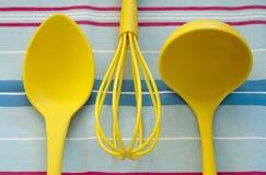 Set kuchenni narzędzia Obrazy Royalty Free