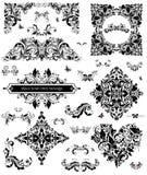 Set kwiecisty przybranie ilustracji