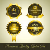 Set Of Label Vector Royalty Free Stock Photos