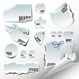 Set of labels. This illustration can be used for your design Royalty Free Stock Images