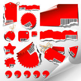 Set of labels. This illustration can be used for your design Vector Illustration