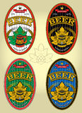 Set of labels for beer. This is file of EPS10 format Stock Images