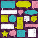 Set of labels and bubble, vector Stock Images