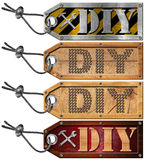 Set of Labels for Diy Store Royalty Free Stock Photo