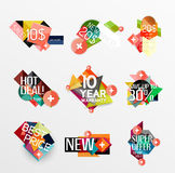 Set of labels, stickers, banners, badges and Stock Images