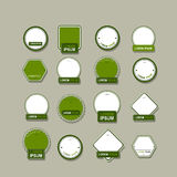 Set of labels for your design Royalty Free Stock Images