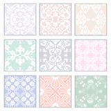 Set of lace Royalty Free Stock Images