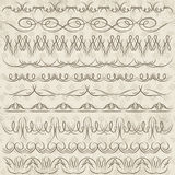Set of Lace Paper with flower, vector Stock Photo