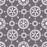 Set. Lace Seamless Pattern. Stock Image