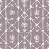Set. Lace Seamless Pattern. Stock Photography
