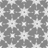 Set. Lace Seamless Pattern. Royalty Free Stock Photo
