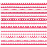 Set of laces Royalty Free Stock Photos