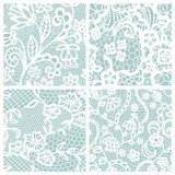 Set of lacy patterns. Stock Image