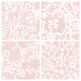 Set of lacy patterns. Royalty Free Stock Image