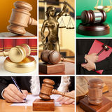 Set of Law 7 Stock Photography