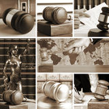 Set of Law 4 Stock Photo