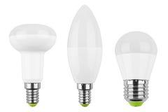 Set of LED light bulb (lamp) Stock Photography