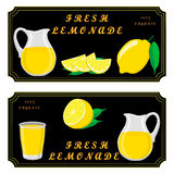 The set lemonade Royalty Free Stock Image