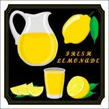 The set lemonade Stock Image