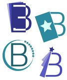 Set of Letter B Logos isolated Stock Photo