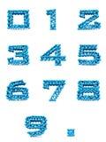Set letters alphabet Stock Photos