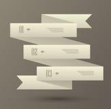 Set liczący sztandar royalty ilustracja