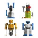 Set śliczni roczników roboty wektorowi Fotografia Stock