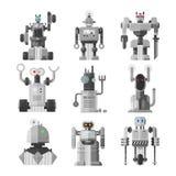 Set śliczni roczników roboty wektorowi Fotografia Royalty Free