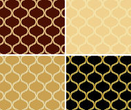 Set of light and dark patterns - vector textures Royalty Free Stock Photos