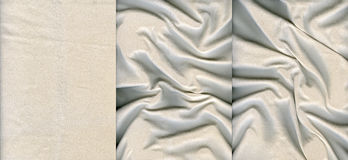 Set of light suede leather textures. For background Royalty Free Stock Image