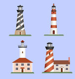 Set of lighthouses Royalty Free Stock Image