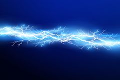 A set of lightning Magic and bright light effects. Vector illustration. Discharge electric current. Charge current. Natural phenomena. Energy effect royalty free illustration