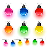 Set of lights Stock Photography