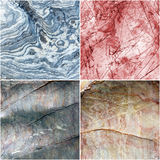 Set of line on curve Marble stone texture background Royalty Free Stock Photography