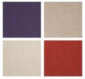 Set of linen texture. stock illustration