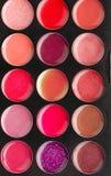 Set of lip glosses Stock Photo