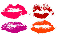 Set of lips Stock Photo
