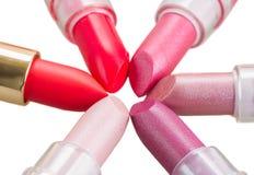 Set of lipsticks Royalty Free Stock Photo