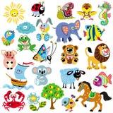 Set for little kids stock illustration