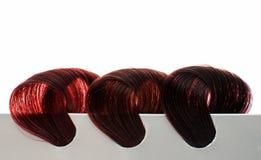 Set of locks of hair Royalty Free Stock Images