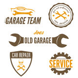 Set of logo, badge, emblem and logotype element Stock Photography