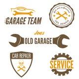 Set of logo, badge, emblem and logotype element Stock Photography