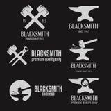 Set of logo, badge, label, emblem and logotype Stock Photography