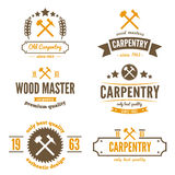 Set of logo, label, badge and logotype elements Stock Photography