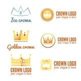 Set of logo, labels, badges, emblems or logotype Stock Photo