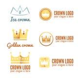 Set of logo, labels, badges, emblems or logotype Stock Photo