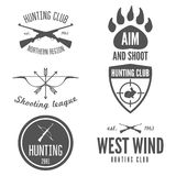 Set of logo, sticker, badge, emblem, label, print Stock Photos