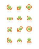 Set of logos. Royalty Free Stock Images