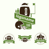 Set of logos Royalty Free Stock Photo