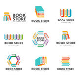 Set of logos for the book store